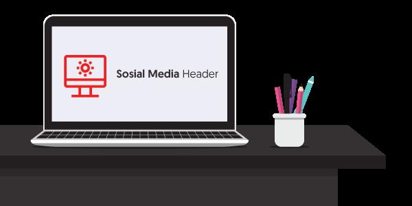Jasa Desain Sosial Media Header Murah Garansi