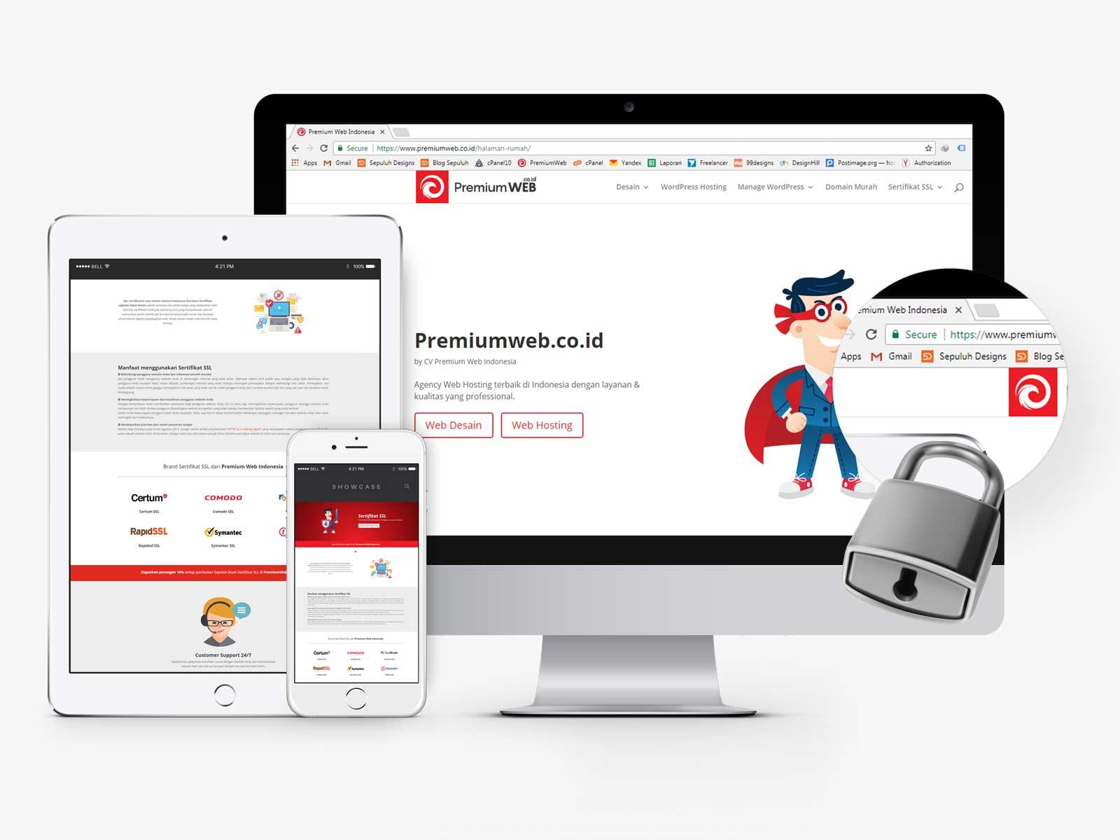 Sertifikat SSL Murah Premium Web Indonesia